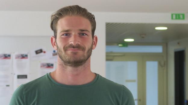 Der SC Kriens-Stürmer Nico Siegrist