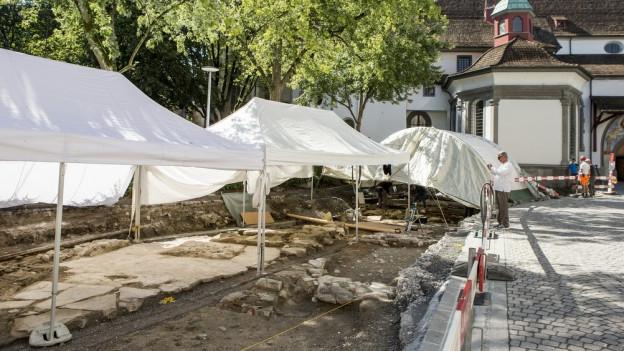 Archäologie am Franziskanerplatz