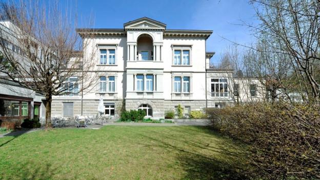 Die Villa Jacob in St. Gallen wird verschoben