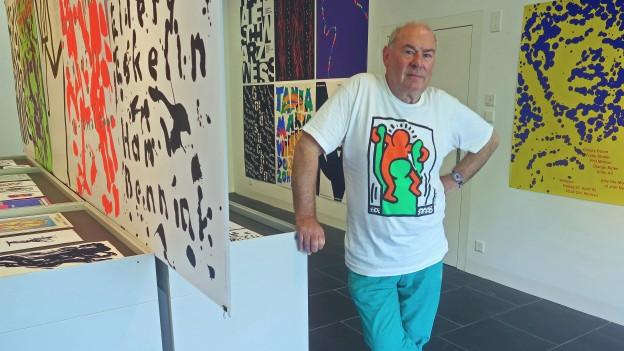 «Mich freut, dass einige meiner Plakate zeitlos sind und nicht einer Epoche zuzuweisen sind», meint Niklaus Troxler.