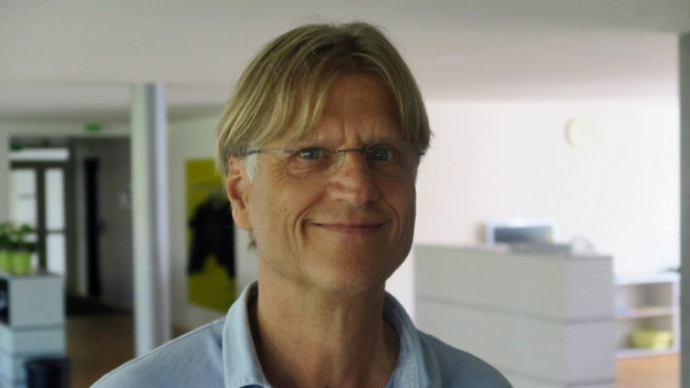 Franz Bachmann, Organisator des Open Air Kinos, zieht eine positive Bilanz.
