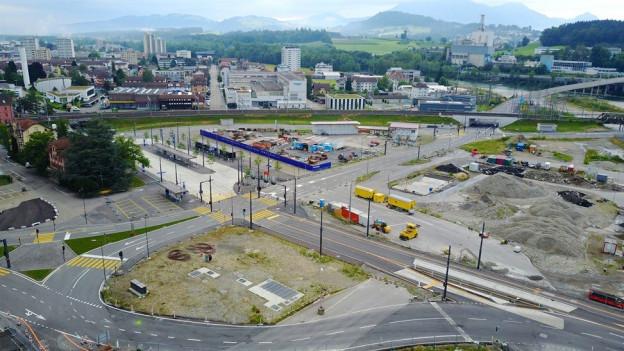 Definitve Verkehrsführung für den Seetalplatz