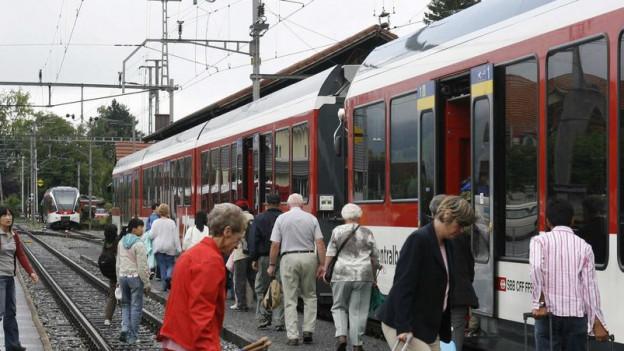 Die Zentralbahn könnte die neuen Verbindungen anbieten.