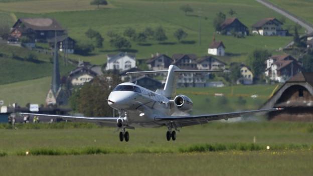 Kanton Nidwalden beteiligt sich weiterhin am Flugplatz Buochs