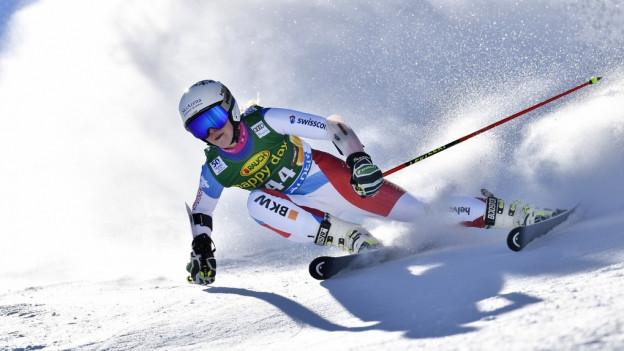 Skirennfahrerin Aline Danioth aus dem Kanton Uri.