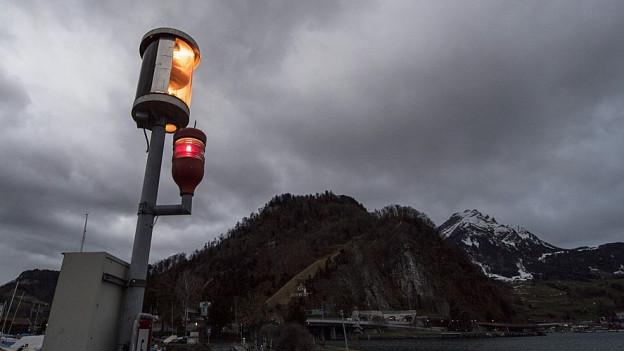 Der Sturm Burglind fegte auch über Stansstad und die Zentralschweiz hinweg.