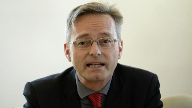 Conrad Wagner kandidiert ohne Partei im Rücken.