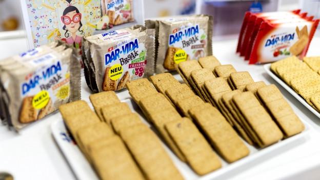 Biscuits-Sortiment der Firma Hug AG