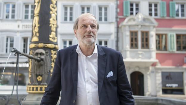 Sein Amt ist begehrt - alle vier bisherigen Stadtratsmitglieder wollen Dolfi Müller beerben.