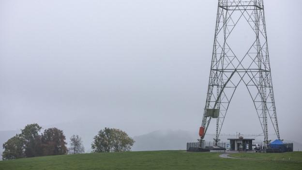 Der 217 Meter hohe ehemalige Sendeturm bringt den Forschern Erkenntnisse für die Klimaforschung