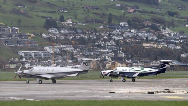 Ein Entscheid zum Flugplatz Buochs gab zu diskutieren.