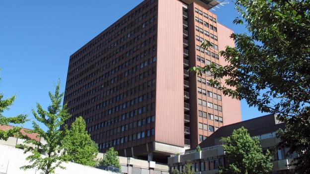 Hochhaus des Luzerner Kantonsspitals.