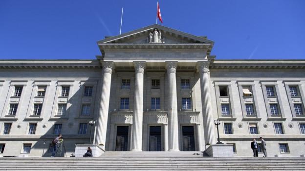 Hauptgebäude des Bundesgerichts.