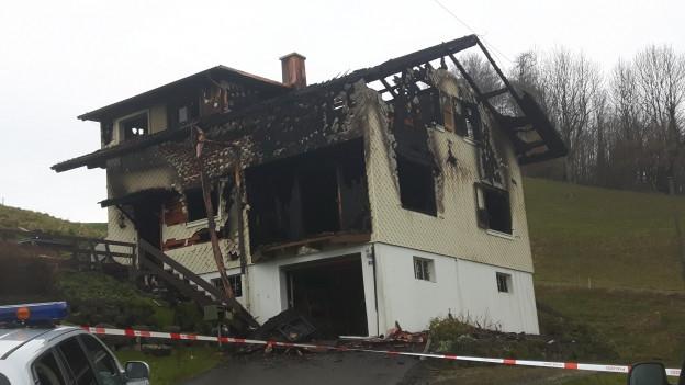 Das abgebrannte Haus