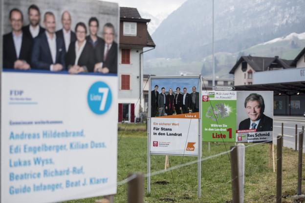 Wahlen Nidwalden