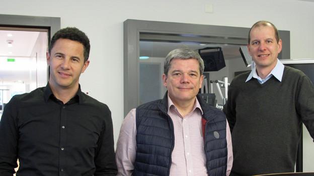 Drei Kantonsratskandidaten aus Obwalden.