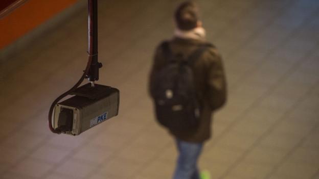 Videokameras sollen für Sicherheit sorgen.