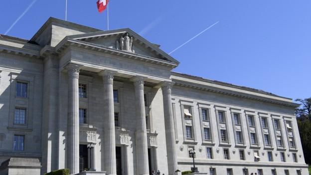 Ein Urteil der höchsten Instanz soll Klärung schaffen - Das Bundesgericht in Lausanne.