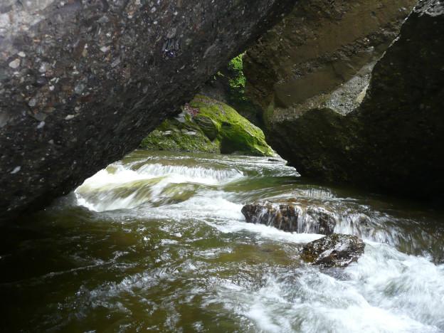 Umweltverbände wehren sich gegen das Wasserkraftwerk in der Lammschlucht im Entlebuch.