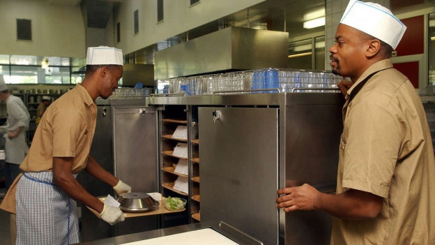 Flüchtling in der Kochlehre