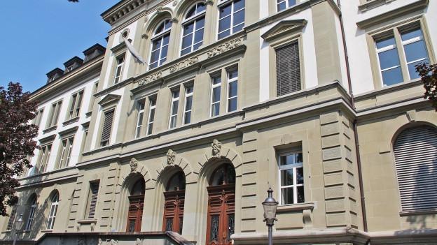 Das Schulhaus Musegg in der Stadt Luzern