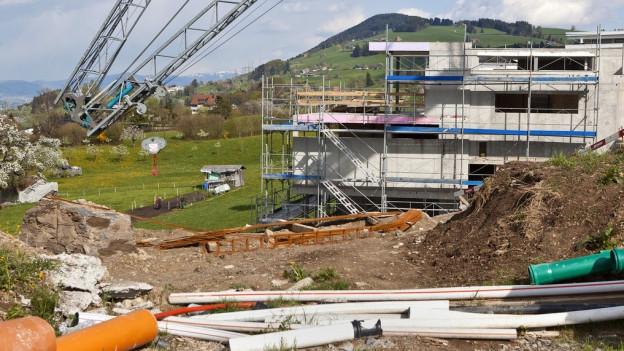 Neubau in Schindellegi