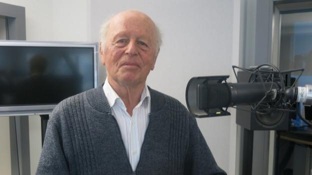Portrait des 87-jährigen Toni Schmid