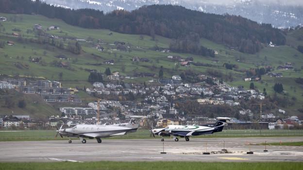Nidwalden kann definitiv 10 Millionen Franken in die Modernisierung des Flugplatzes investieren.