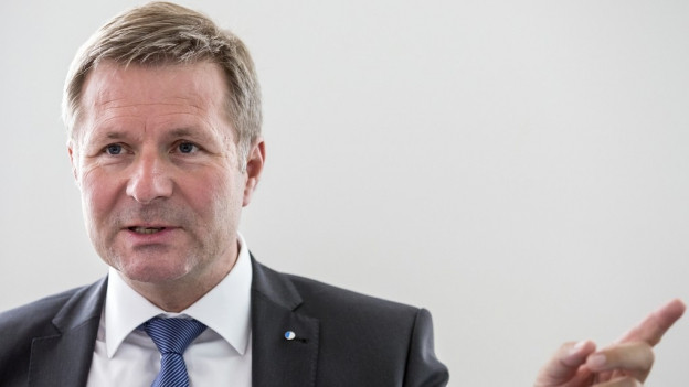 Finanzdirektor Marcel Schwarzmann rechnet mit weiteren Sparanstrengungen.