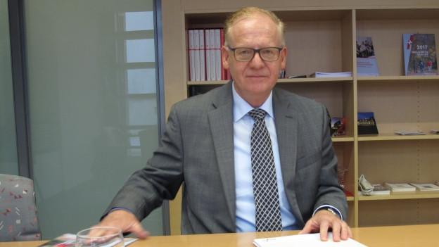 Andreas Dummermuth, Geschäftsleiter der Ausgleichskasse/IV-Stelle Schwyz