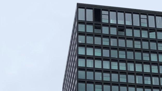 80 Meter hoch: Der Parktower in Zug.