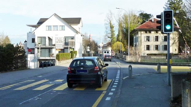 Die Luzernstrasse in Sursee sorgt für Diskussionen.