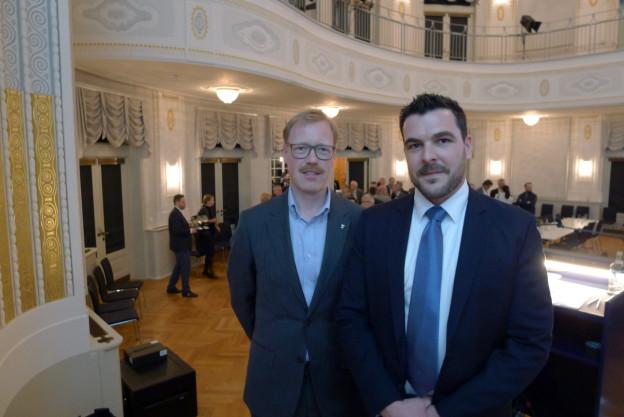Andreas Hostettler (links) und Florian Weber wurden nominiert.