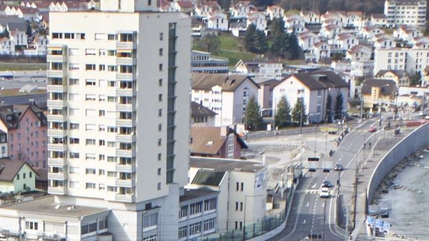 Geplante Überbauung Reusszopf im Stadtteil Reussbühl