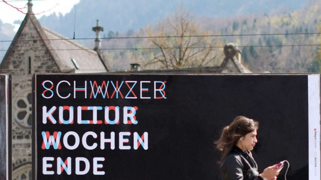 Letztes Jahr kamen 20'000 Besucher an das Schwyzer Kulturwochenende.Letztes Jahr kamen 20'000 Besucher an das Schwyzer Kulturwochenende.