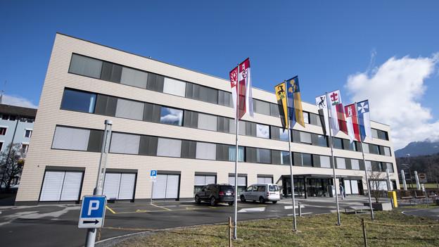 Das Kantonsspital Obwalden.