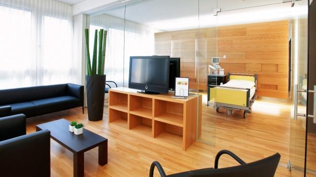 Suiten im Kantonsspital Nidwalden