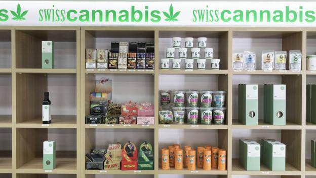 Cannabisprodukte ohne THC