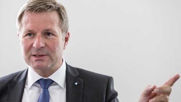 Finanzdirektor Marcel Schwerzmann