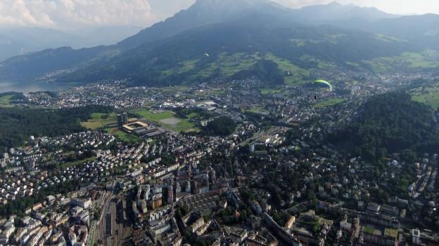 Entwicklungspotenziale der Stadt Luzern bis 2035.