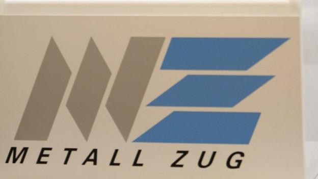 Logo des Konzerns Metall Zug