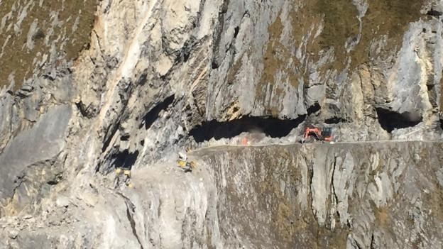 Beim Felssturz bei der Ruosalp waren zwei Männer ums Leben gekommen.