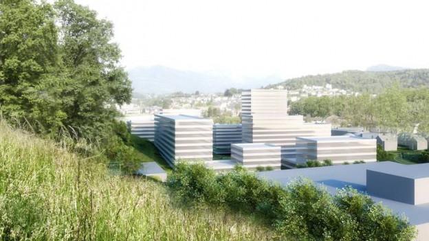 Unter anderem ist ein 50-Meter-Hochhaus geplant.