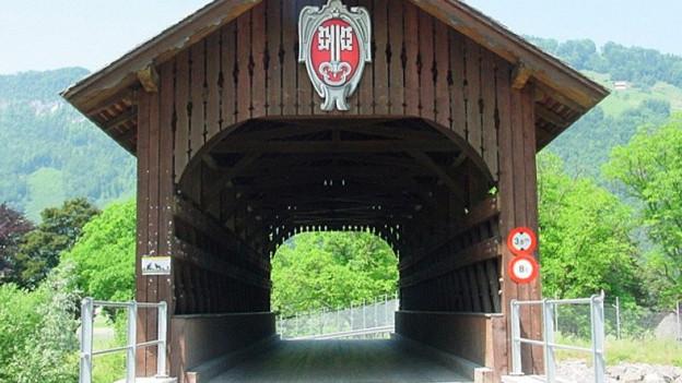 Die Fadenbrücke erschliesst ein wirtschaftlich wichtiges Gebiet für Nidwalden.