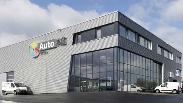 Die Auto AG in Rothenburg.