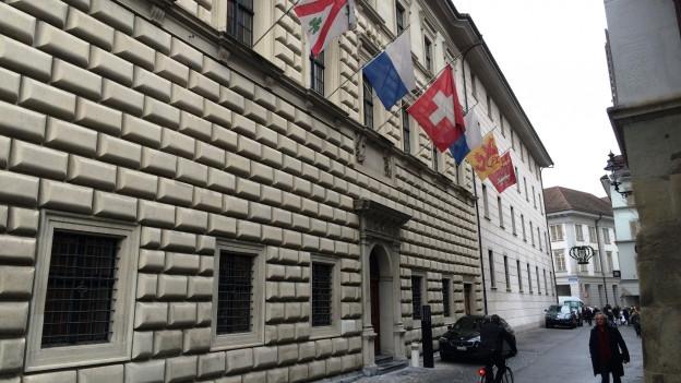 Ansicht des Luzerner Regierungsgebäudes.