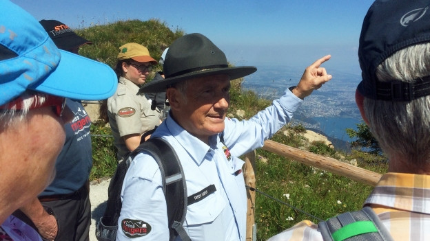 Ranger auf dem Stanserhorn