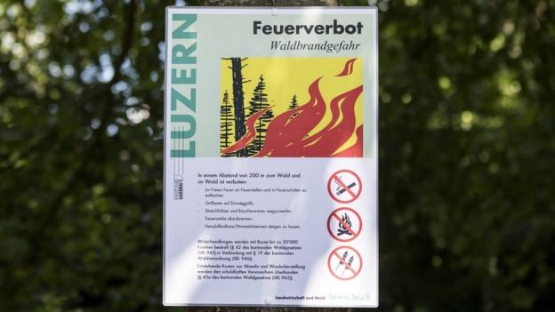 Das Feuerverbot wurde weitestgehend befolgt.