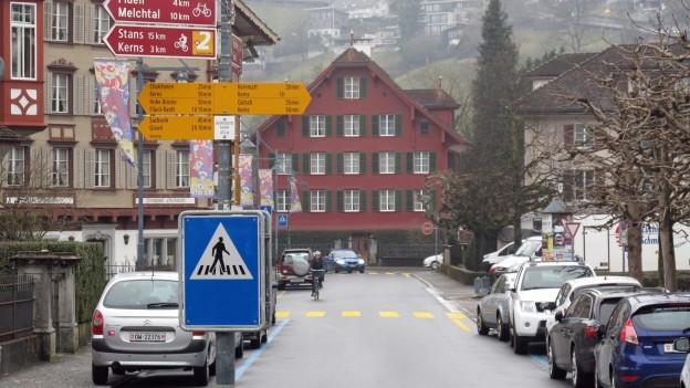 Hauptstrasse in Sarnen.