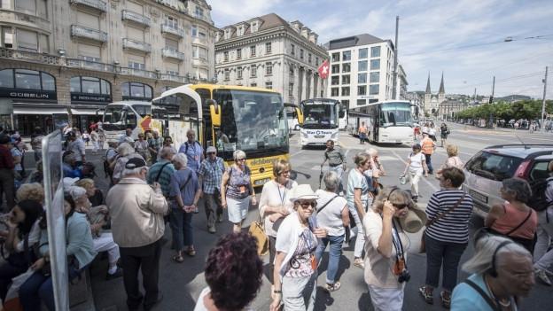 Cartouristen in Luzern